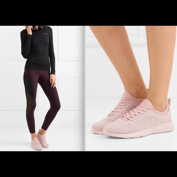 Apl Techloom Phantom Knit Sneakers Pink